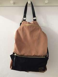 Legato Largo Two-Way Backpack Shoulder Bag (Tas Ransel Selempang)