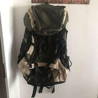 Camel Active Backpack Army Green