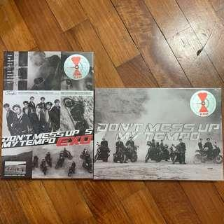 [ WTS ] EXO dont mess up my tempo album instocks