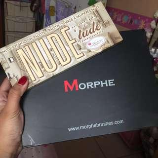 MAKEUP BUNDLE SET Morphe 35O + the Balm Nude Tude