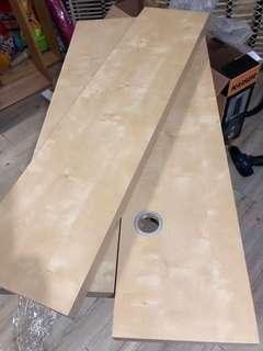 Ikea樺木色掛牆層板(三片)