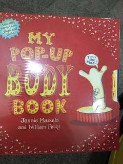 BNIP My Pop up body book