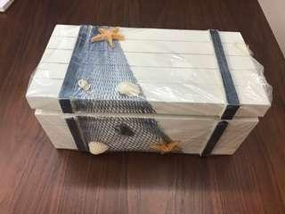 Seaside themed box for keepsakes!