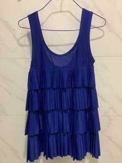 Mphosis Electric Blue Top