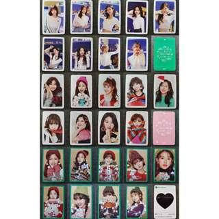 [PO] TWICE Merry and Happy Official Photocards Set