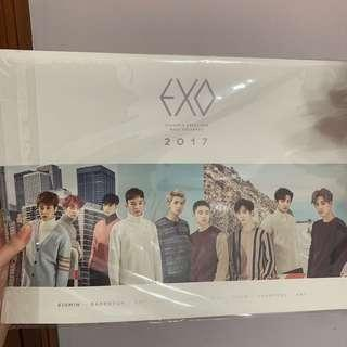 [WTS] EXO 2017 OFFICIAL SEASON'S GREETINGS WALL CALENDAR