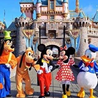 香港迪士尼樂園門票 成人電子門票x2