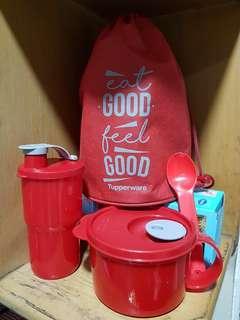 Tupperware Set EAT GOOD, FEEL GOOD