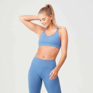 🚚 New without tag Power Mesh Sports Bra - Thunder Blue
