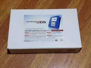 Nintendo 2ds Blue with free USB charging cable