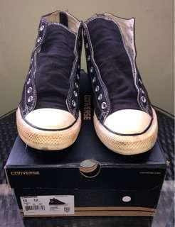 "New Converse ""Vintage"" zipper high cut Sneakers"
