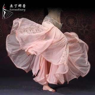 Belly dance dress M码蕾丝包臀半裙