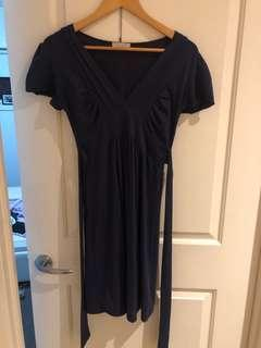 Tightrope navy dress