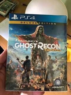 Ps4 Game Tom Clancy Ghost Recon