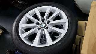 "BMW 18"" wheels with Goodyear tires from F10/F11"