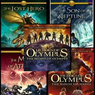 [PDF] Percy Jackson & the Olympians and Heroes of Olympus Ebooks