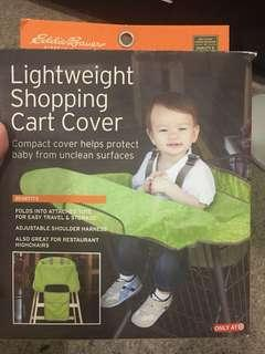 Unused open box shopping cart cover