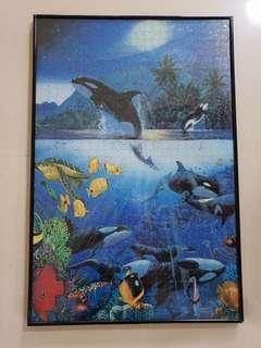 Jigsaw Puzzle killer whale