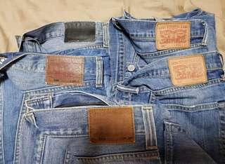 Used Levi's Jeans