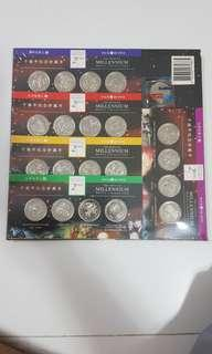 The Listing MILLENNIUM MEDAL COLLECTION
