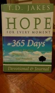 Hope For Every Moment Devotional by T.D. Jakes