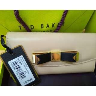 <NEW> TED BAKER LONDON – Bow Detail Leather Purse