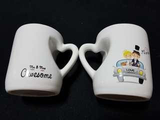 Couple small coffee cups