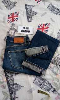 Uniqlo Jeans kepala kain rare