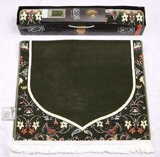 🌟Instock!: Imam Al Haram Al Makki prayer rug (1pc)