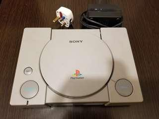 PlayStation 1 J NTSC 100V with Adapter