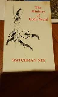 The Ministry Of God's Word by Watchman Nee