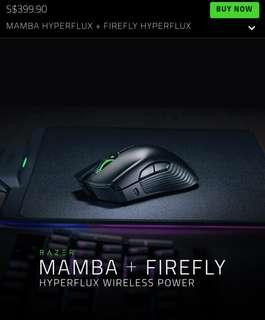 Razer Mamba Firefly Hyperflux Wireless Power