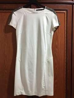 White Fashionable Dress