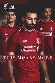Liverpool 利物浦主場球衣 home jersey 2018/19 英格蘭
