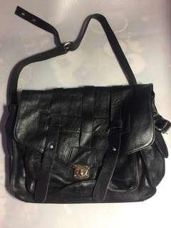 書包型 黑色 手袋