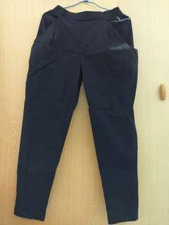 🚚 Vieso 長褲 飛鼠褲 兩色 黑色/牛仔深藍色