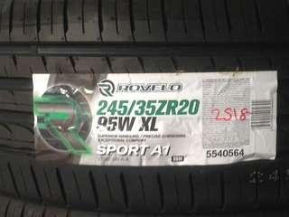 New tyre promotion 245/35/20