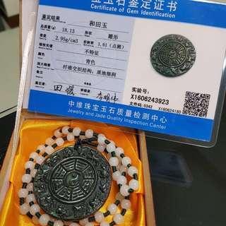Jade pendant (和田玉) (十二生肖玉髓)