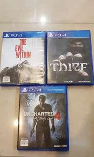 🚚 PS 4 Games bundle for only $40!