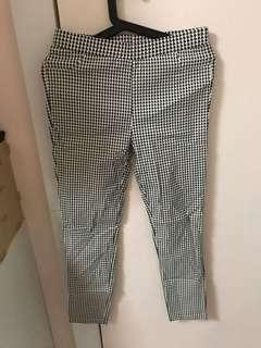 Black White Pattern Legging