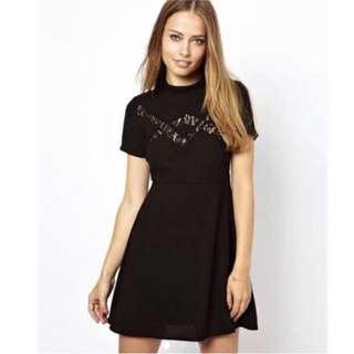 Jaro London Lace Skater Dress