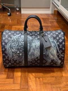 b5696b96d409 Louis Vuitton Chapman Brothers Keepall 45