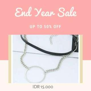 SALE New Hoop Choker