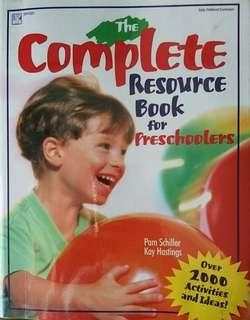 Pre-school Teacher activity resource book