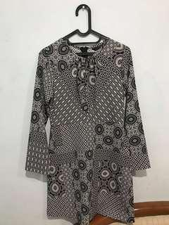 Zara Trafaluc Dress Black and White