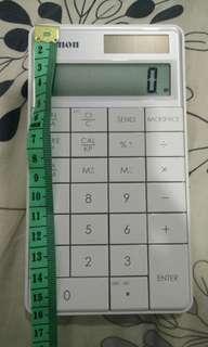 Canon calculator model: X Mark/ Keypad RF