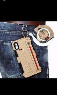 (PO) iPhone XS/XR/MAX Casing Denim