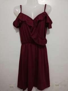 Preloved Maroon Dress