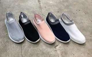 Sepatu Kets Import Korea Wanita Coco Onal Murah - Sneakers Slipon Olahraga Senam - Sepatu Branded Bandung Gaya - Sepatu Zumba