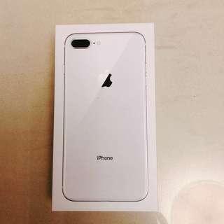 iPhone 8 Plus, Silver, 64 GB empty box 空盒 整人包裝盒